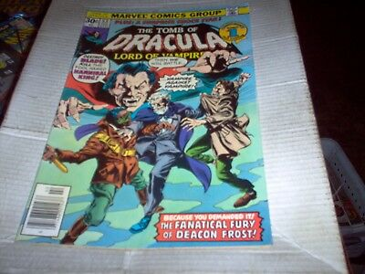 The Tomb Of Dracula # 53 Gene Colan Art Deacon Frost Issue Look Vf-