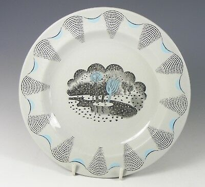 """Eric Ravilious Wedgwood Small Side Plate """" Travel"""" 1953"""