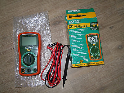 "Multimeter Extech EX310, u.a. ""Non Contact Detector"", Batterietest"