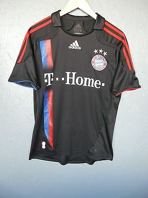 Vtg Bayern Munich Adidas 2007 Away Football Shirt Trikot Sz 34-36 D176 (296)