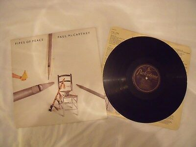 PAUL McCARTNEY - Pipes Of Peace - Gatefold Vinyl LP (Mint)