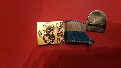 pin fifa congress zurich 1992 football