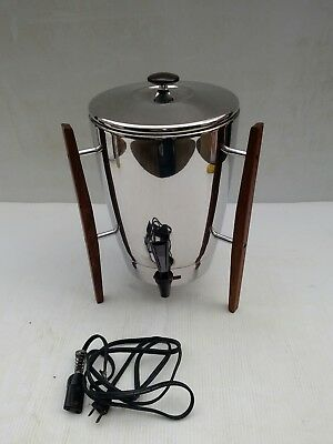 Vintage Atomic MCM Regal Automatic 30 Cup Coffee Maker Percolator 1330