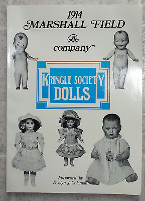 1914 Marshall Field Kringle Society Dolls Catalog 1980 Reference Toy Accessories