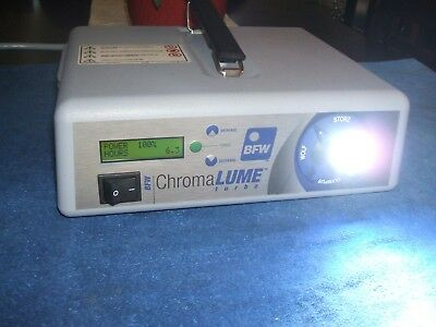 BFW ChromaLUME Turbo Plasma Light Source, Convertible Turret-Excellent Condition