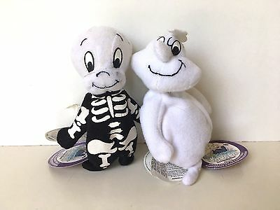 Starbucks Casper The Friendly Ghost Fatso Finger Puppets Lot of 2