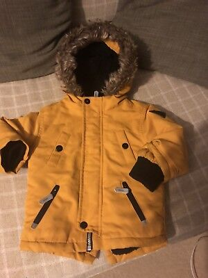 Baby Boy Jacket / Coat 9-12 Months Mustard Colour