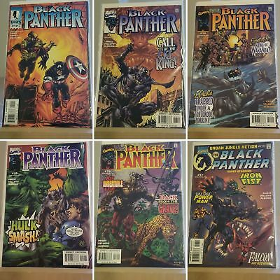 INVESTMENT   Black Panther Marvel Comics COMPLETE FULL RUN SET Series YEAR 1998
