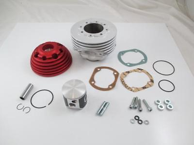 "Zylinder Kit 135ccm "" Parmakit SP09 Oval Racing "" 58/97 CENTRAL ALUMINUM Vespa"