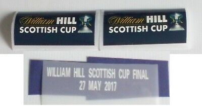 Celtic Shirt Scottish cup final decals