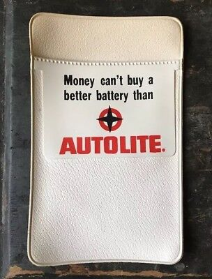 Vintage AUTOLITE Pocket Protector  AUTOMOTIVE advertising Old
