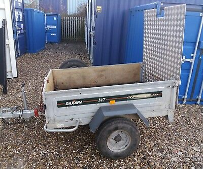 Daxara 147 Trailer With Ramp   Cash On Collection Only