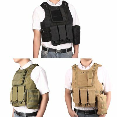 Vest Molle Amphibious Field Equipment Tactical CS Camouflage Prote Outdoors