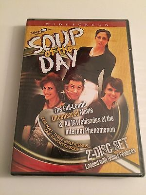 Soup Of The Day DVD 2-Disc Set Widescreen New Sealed