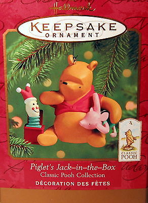 Hallmark 2000   Piglet's Jack-In-The-Box   (Winnie The Pooh Collection)