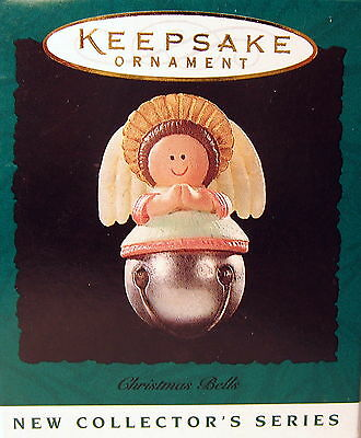 Hallmark 1995  Christmas Bells  #1 In The Series (Miniature  Angel  Bell)