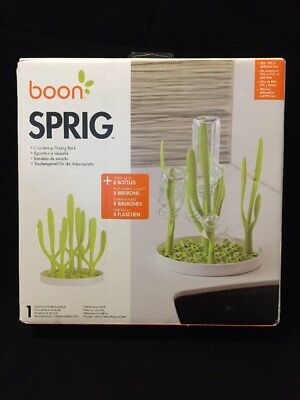 Boon Sprig Countertop Drying Rack, Bottle Drying Rack, New, Free Shipping