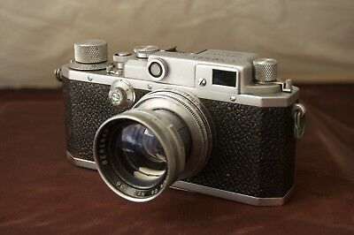 Canon 2B Rangefinder Camera with Serenar 50mm f1.9 lens