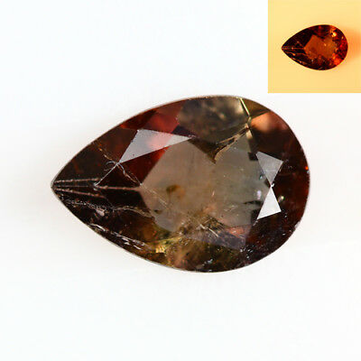 1.000 Ct  Earth Mined Unique Dazzling 100% Natural Dancing' Color Change Axinite