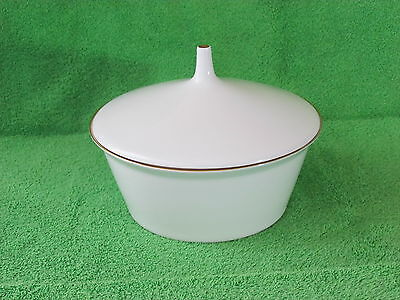 """Rosenthal Ascot Serving Bowl With Lid 8""""  # 4001"""