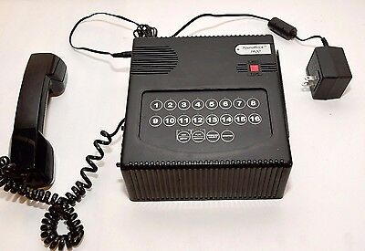 SoundBrick Model 1400 Voice Messaging System, with telephone handset and AC plug