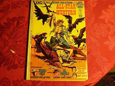 All Star western #11 JONAH HEX 2nd app and on Cover   Very Good