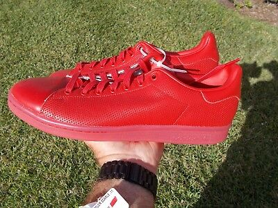 1b41092c5 ADIDAS Originals Stan Smith Men s Shoes SCARLET RED s80248 SIZE ...