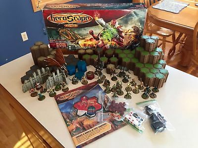 HeroScape Rise of the Valkyrie Master set - COMPLETE, NICE