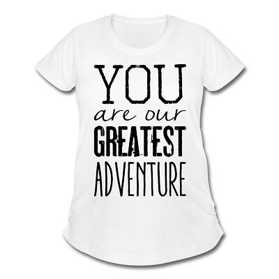 Pregnancy Our Greatest Adventure Women's Maternity T-Shirt by Spreadshirt™