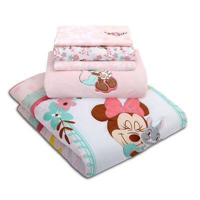 Minnie Mouse Woodland Whimsy 5 Piece Bed Set