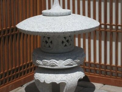"20"" Granite Stone Maru  Yukimi Lantern - Pick Up Only"