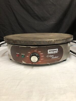 """Waring Commercial WSC160 Heavy-Duty Commercial Electric 16"""" Crepe Maker"""