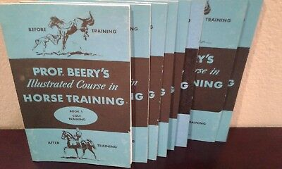 Prof. Beery's Illustrated Course in Horse Training   Complete 8 book set