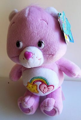 """CARE BEAR BEST FRIENDS PLUSH BEAR 8"""" Series 3 #3 New with Tags"""