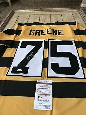 51bca9b4f Joe Greene Autographed Signed Jersey JSA COA Pittsburgh Steelers HOF Mean