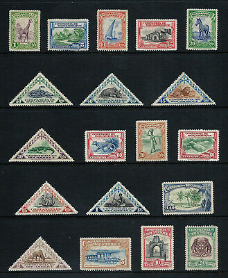 MOZAMBIQUE CO. _ 1937 'PICTORIAL' SET of 19 _ mlh ____(519)