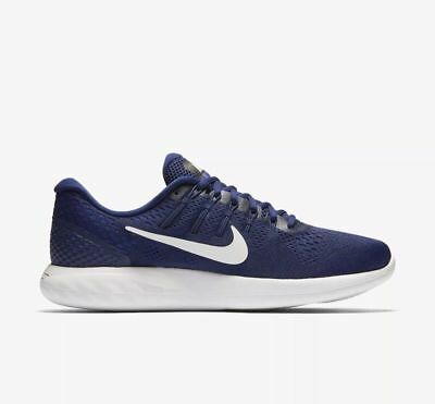 46765e9ba9ff ... the latest 2587a 888ee MEN S NIKE LUNARGLIDE 8 SHOES SIZE 7 binary blue  white black ...