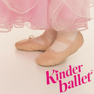 Ballet Shoes - New - Leather - Full Sole - Children's Ballet Shoes