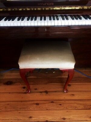 Queen Anne Style Piano Stool