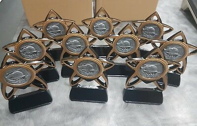 10 x 155mm Basketball Trophies. Other Quantities also available