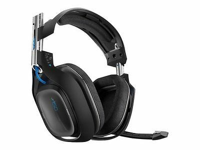 Astro A50  Edition Black/Blue Headband Headsets for Multi-Platform + Charge Base