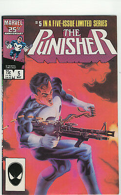 Mint The Punisher 1986 Vol. 1 # 5 Limited Series Frank Castle