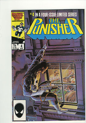 Mint The Punisher 1986 Vol. 1 # 4 Limited Series Frank Castle 1st Limited Series