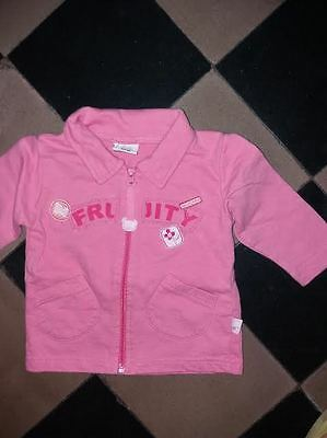 gilet    fille taille 68cm