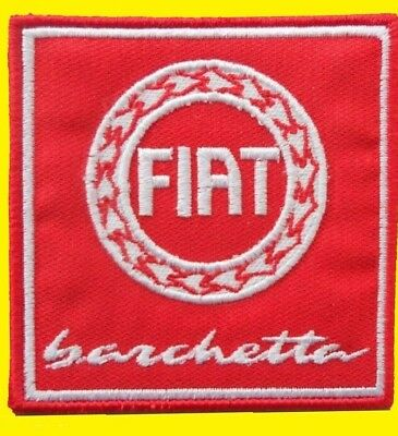 Fiat Barchetta 6,5 cm. patch écusson sticker Embroidered écusson patches.