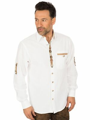 Os-Trachten Traditional Shirt 320164-1011 White