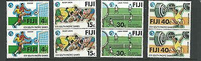 1979 6th Pacific Games in Pairs   SG 572 - 575  Complete MUH/MNH as Issued