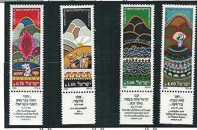 1981 Festival Stamps  set 4 all with Tabs  MUH/MNH  as Issued