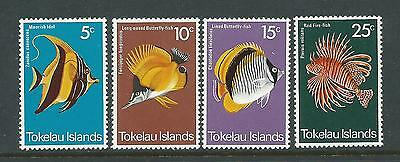 1975 Fish  set 4 SG 45- 48  Complete MUH/MNH as Issued