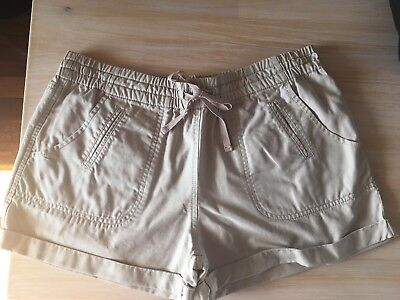 Country Road Cotton/Linen Shorts. Size 12